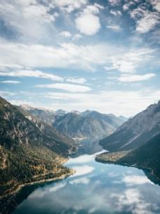 高清山水图图片