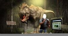 恐龙追杀人类图片