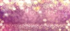 粉色夢幻漸變光效背景圖片
