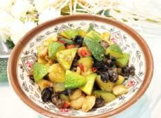小金瓜炒螺蛳肉图片