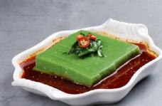 翡翠绿搅团图片