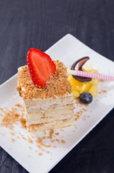 木糠布丁蛋糕图片