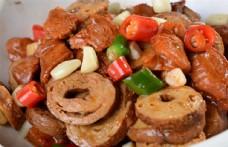 砂锅肠香豆腐图片