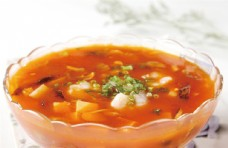 番茄烩双菇图片