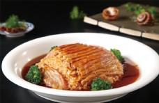 糯米蒸羊肉图片
