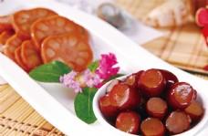 红枣糯米藕图片