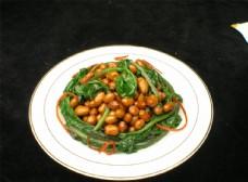 果仁菠菜图片