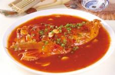 红扒豹鱼头图片