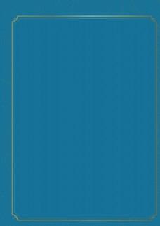 蓝色背景 金属边框底纹背景图片