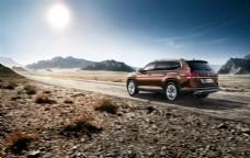 SUV海报 品质汽车海报图片