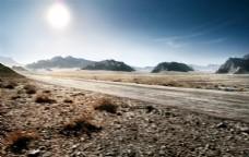 越野车海报背景 SUV海报背景图片