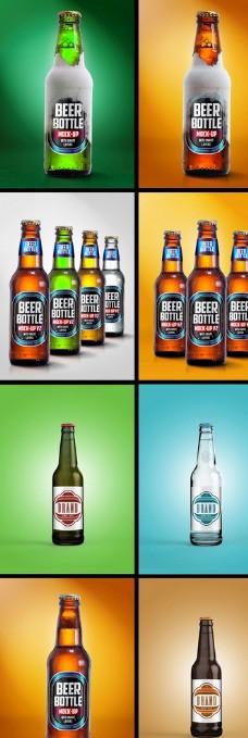 啤酒样机图片