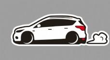 福特 翼虎 SUV 卡通轿车图片