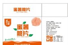 蜜薯脆片包装设计图片