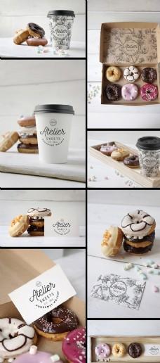 咖啡包装样机图片