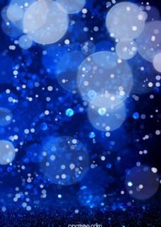 梦幻创意质感蓝色背景图片