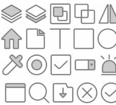 组态工具图标AI插画图片