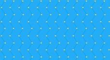 蓝色线状金色星球素材图片