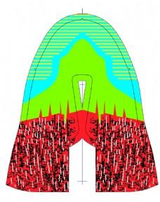 跑鞋平面设计图片