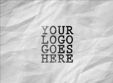 LOGO标志样机图片