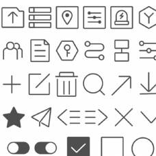 IOT平台图标设计图片