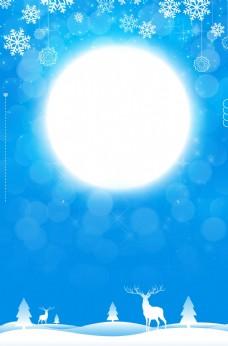 月亮 圆月图片