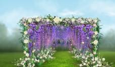 花廊效果图设计图片
